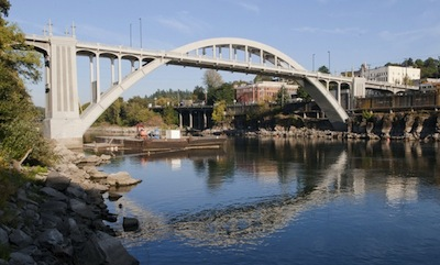 West Linn Oregon City Bridge